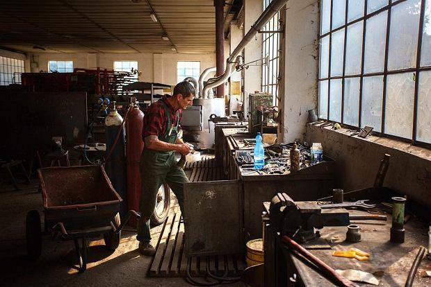 W warsztacie mechanicznym Agro-Waru pracuje 18 osób