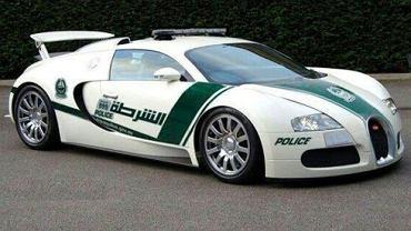 Radiowozy policji w Dubaju