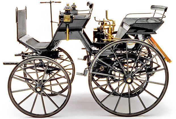 Najwybitniejsi projektanci samochodów: pierwszy samochód Daimlera