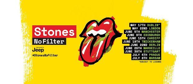 Legendarna brytyjska kapela wystąpi 8 lipca, na Stadionie Narodowym w Warszawie. Będzie to czwarta wizyta The Rolling Stones w naszym kraju.