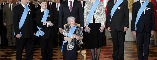 Wildstein, Szewińska, Romaszewska... - prezydent wręczył Ordery Orła Białego