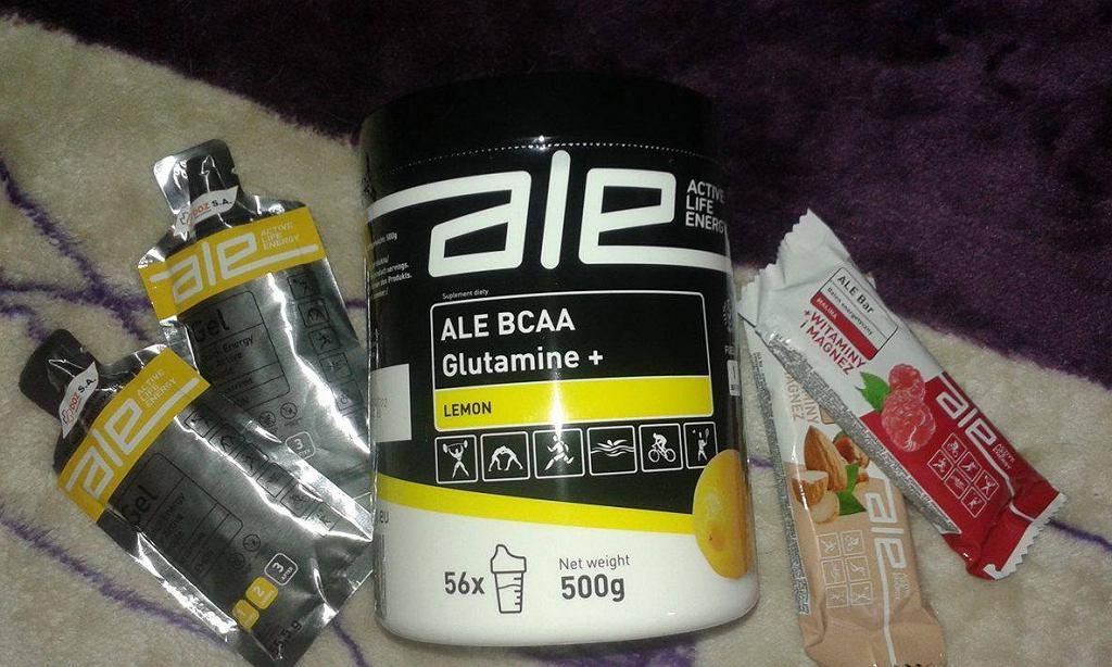 Odżywki dla biegaczy firmy ALE
