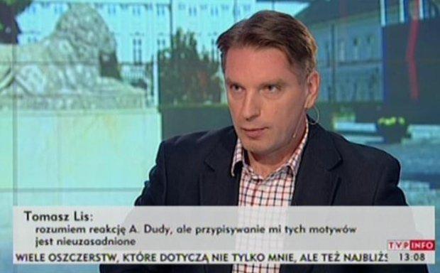 Tomasz Lis w TVP Info