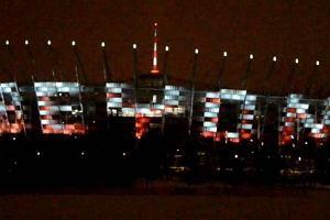 Stadion Narodowy jak wielki billboard. Dwa hektary reklam