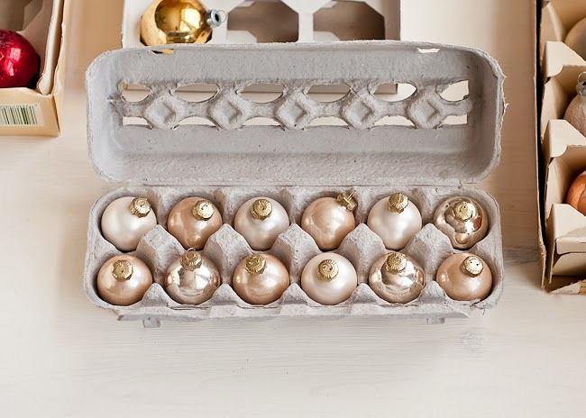 Bombki w wytłoczkach po jajkach