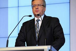 Komorowski: Rosja wsp�prac� odrzuci�a, ale dialog jest niezb�dny