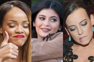 Rihanna, Kylie Jenner, Anna Mucha