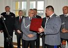 Uroczystość pożegnania zastępcy komendanta stołecznego policji w Białej Sali Komendy Stołecznej Policji