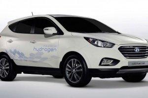 Hyundai ix35 Fuel Cell - jazdy wodorowym Hyundaiem  podczas targów Fleet Market 2015.