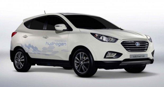 Hyundai ix35 Fuel Cell - jazdy wodorowym Hyundaiem  podczas targ�w Fleet Market 2015.