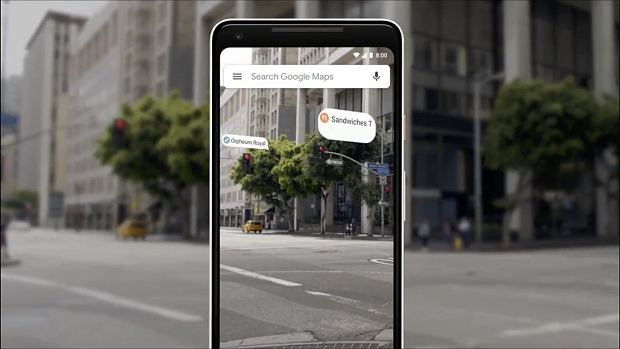Google Maps na Google I/O 2018