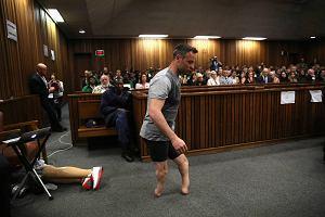 Proces Pistoriusa: Poruszające wystąpienie w sądzie. Paraolimpijczyk bez protez [ZDJĘCIA]
