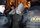 """Protesty w centrum Moskwy po skazaniu opozycjonisty Aleksieja Nawalnego. """"Kreml zamyka usta krytykom w�adz"""""""
