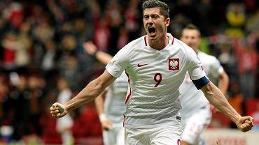 Robert Lewandowski, mecz eliminacyjny do Mistrzostw Świata, Polska - Armenia, 2016 r.