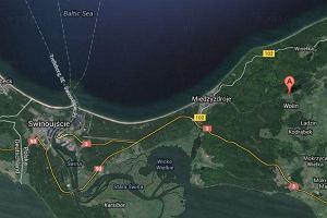 Poci�g towarowy wykolei� si� w Warnowie na wyspie Wolin. Z wagon�w wycieka olej opa�owy