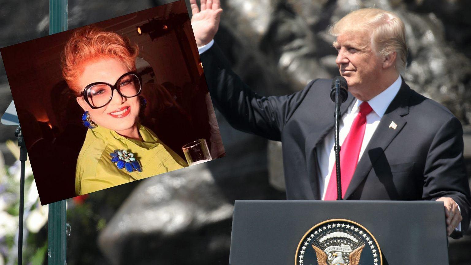 Georgette Mossbacher i Donald Trump