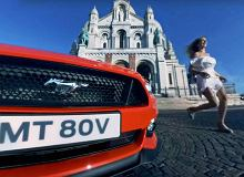 Wideo 360   Ford Mustang   Randka w Paryżu