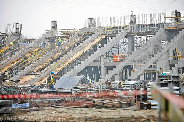 Zdjęcie numer 0 w galerii - Stadion Widzewa. Rozpoczęto budowę widowni. Wkrótce dach [ZDJĘCIA]