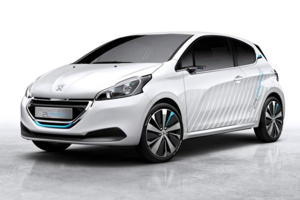 Salon Pary� 2014 | Peugeot 208 HYbrid Air