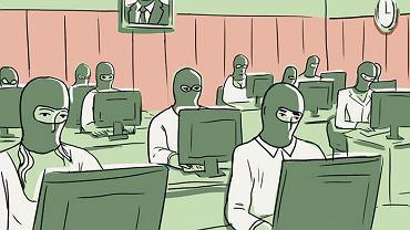 """- Gdy od kilku miesięcy nie możesz znaleźć pracy i słyszysz 45 tys. rubli, zgadzasz się na wszystko błyskawicznie - mówi była pracowniczka prokremlowskiego """"holdingu medialnego"""""""