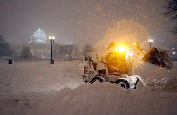 Burza �nie�na w Waszyngtonie