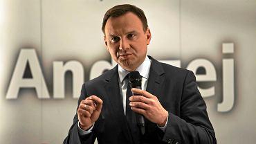 Andrzej Duda, kandydat PiS na prezydenta