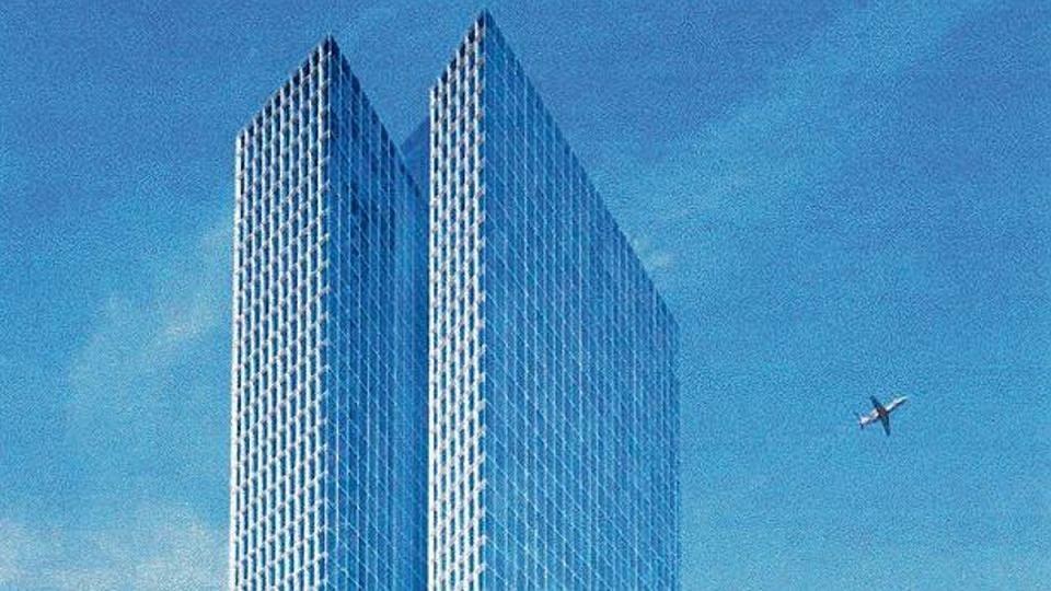Wieżowiec 190 metrowy