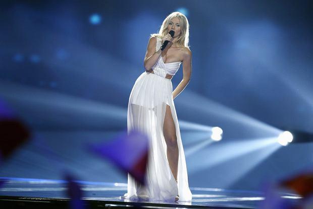 Kasia Moś podczas półfinału Eurowizji 2017