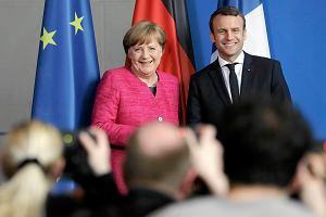 Francusko-niemiecki motor UE znowu działa. Merkel poparła pomysły Macrona