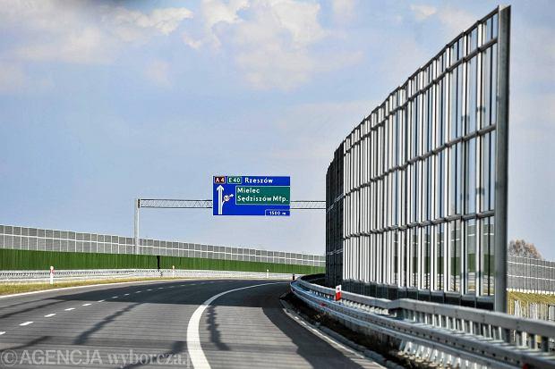 Autostrad� A4 z Rzeszowa do D�bicy. [ZOBACZ]