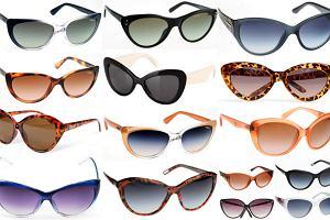 """""""Kocie"""" okulary przeciws�oneczne - ponad 20 propozycji!"""