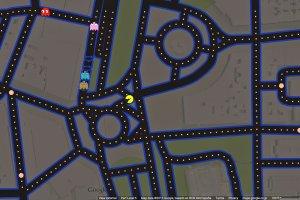 Pac-Man w Google Maps! Zagrasz wsz�dzie. �wietny prezent, kt�ry ju� dzia�a. Sprawd�cie sami