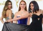 Nagrody Emmy 2015: za te kreacje gwiazdy dostają czerwoną kartkę. Jest też jeden koszmarny makijaż z lat 90.