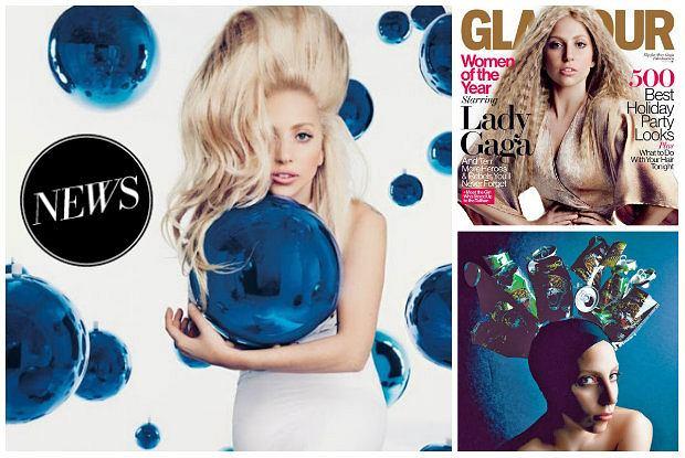 """Lady Gaga w ameryka�skim """"Glamour"""": Nie jestem klasyczn� pi�kno�ci� ani supermodelk�, ale jest mi z tym dobrze [ZDJ�CIA]"""