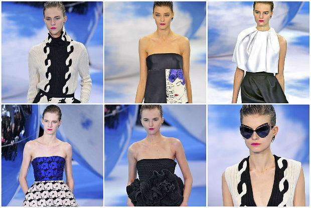 Christian Dior jesień-zima 2013/14 - najpiękniejsze sylwetki z pokazu