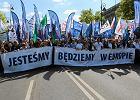 """""""Tu jest Polska"""" - ogromny marsz KOD i opozycji. Być może nawet ćwierć miliona osób"""