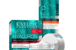 Kremy z serii NEW HYALURON drugiej generacji od Eveline Cosmetics