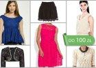 Koronkowe ubrania do 100 zł - ponad 60 propozycji
