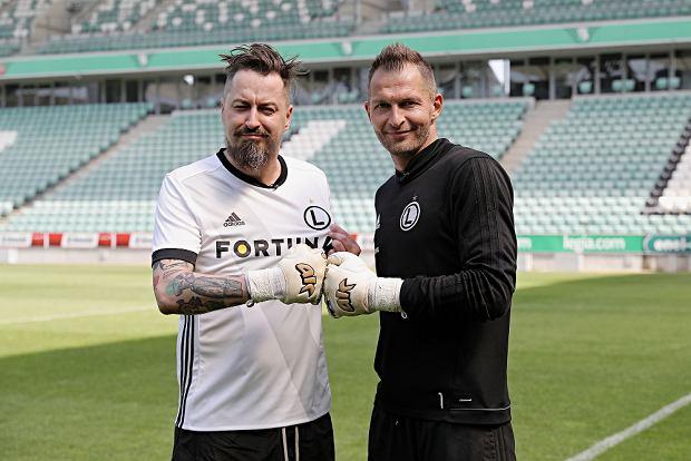 Piotr Kędzierski i Arek Malarz