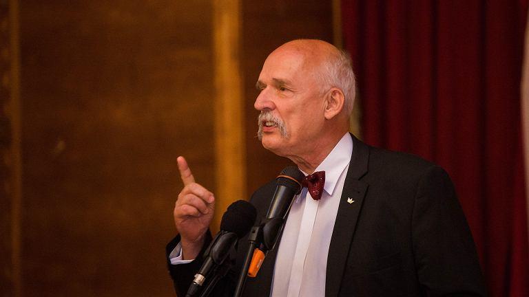 Spotkanie z Januszem Korwinem-Mikke w hotelu Pod Orłem, w Bydgoszczy