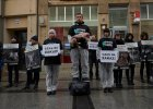 Szokujący protest w centrum Wrocławia. Pokazali lisa obdartego ze skóry