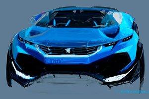 Lew pe�en pomys��w | Koncepty Peugeota