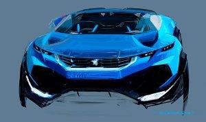 Lew pełen pomysłów | Koncepty Peugeota