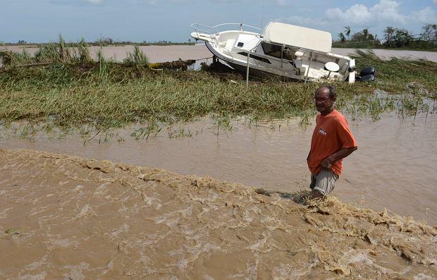 Skutki przejścia huraganu Maria nad Portoryko