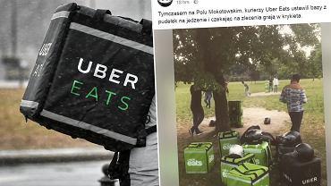 Dostawcy UberEats zrobili sobie przerwę