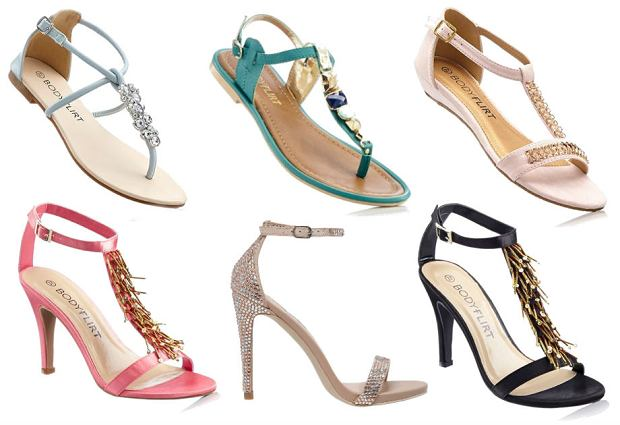 25b671c7f4593 Biżuteryjne sandały - nie tylko na specjalne okazje