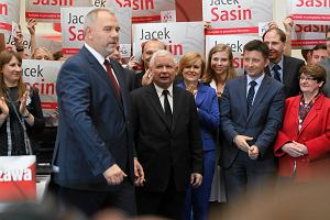 Wybory samorz�dowe 2014. Kaczy�ski: Nie jeste�my uwik�ani, nie mamy zwi�zanych r�k. Mo�emy zmienia� Polsk�
