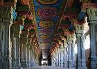 Wn�trze hinduskiej �wi�tyni Meenakshi, Indie Po�udniowe