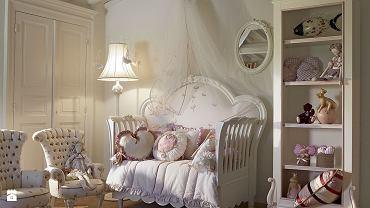 Pokój dla dziewczynki w stylu shabby chic