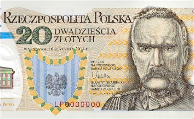 Nowy banknot kolekcjonerski o nominale 20 zł
